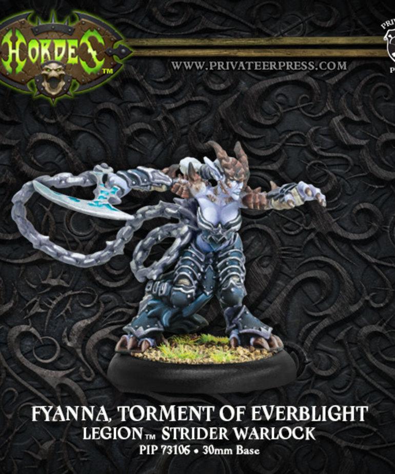 Privateer Press - PIP Hordes - Legion of Everblight - Fyanna, Torment of Everblight - Legion Warlock (Fyanna 2)