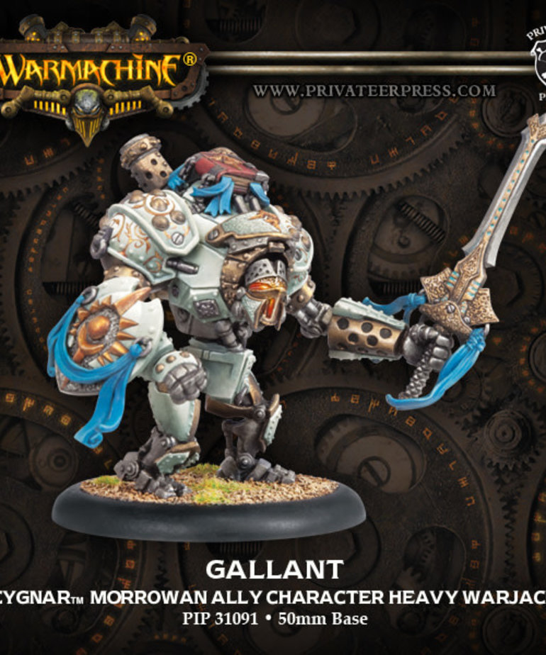 Privateer Press - PIP Warmachine - Cygnar - Gallant