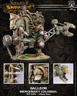 Privateer Press - PIP Warmachine - Mercenaries - Galleon - Colossal