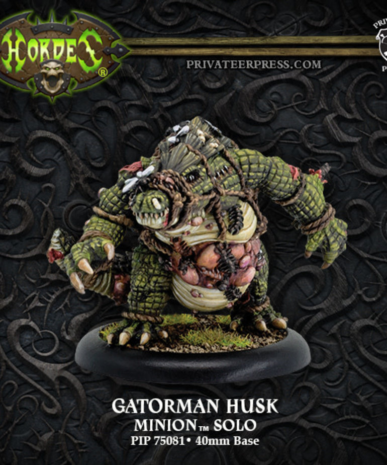 Privateer Press - PIP Hordes - Minions - Gatorman Husk - Solo
