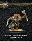 Privateer Press - PIP Hordes - Minions - Gatorman Witch Doctor - Solo