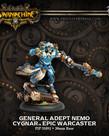 Privateer Press - PIP Warmachine - Cygnar - General Adept Nemo - Epic Warcaster (Nemo 2)