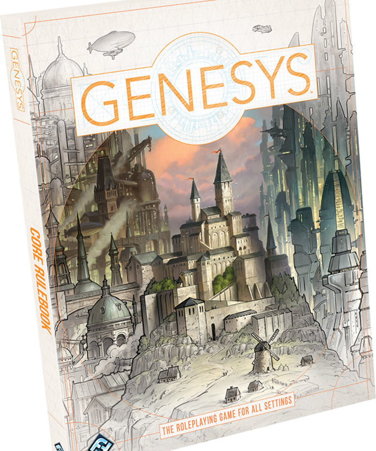 Fantasy Flight Games - FFG Genesys Roleplaying System - Core Rulebook