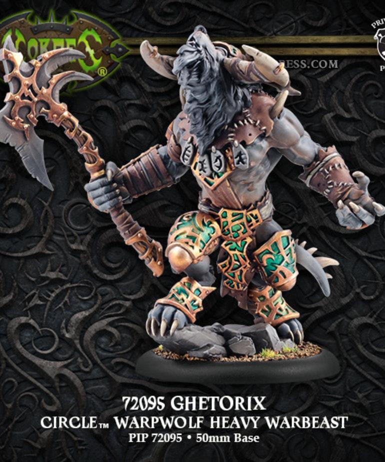 Privateer Press - PIP Hordes - Circle Orboros - Ghetorix - Warpwolf Heavy Warbeast