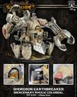 Privateer Press - PIP Warmachine - Mercenaries - Ghordson Earthbreaker - Rhulic Colossal