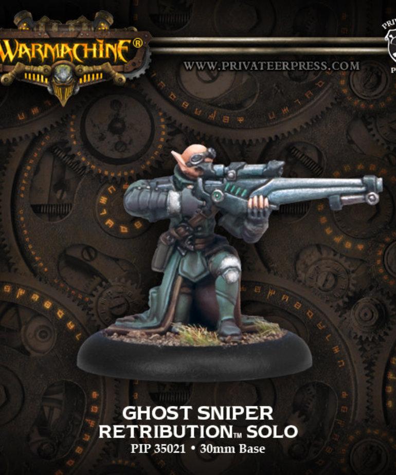 Privateer Press - PIP Warmachine - Retribution of Scyrah - Ghost Sniper - Solo