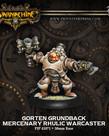 Privateer Press - PIP Warmachine - Mercenaries - Gorten Grundback - Rhulic Warcaster (Grundback 1)