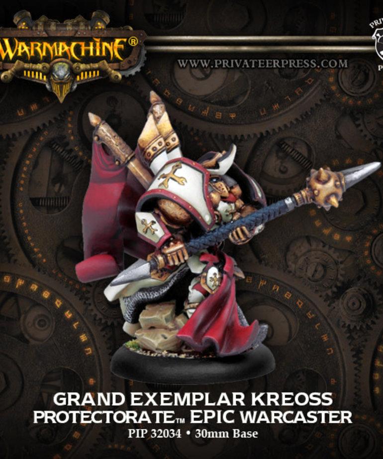 Privateer Press - PIP Warmachine - Protectorate of Menoth - Grand Exemplar Kreoss - Epic Warcaster (Kreoss 2)