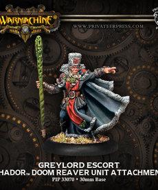 Privateer Press - PIP Warmachine - Khador - Greylord Escort - Doom Reaver - Unit Attachment