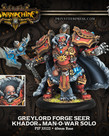 Privateer Press - PIP Warmachine - Khador - Greylord Forge Seer - Man-O-War Solo
