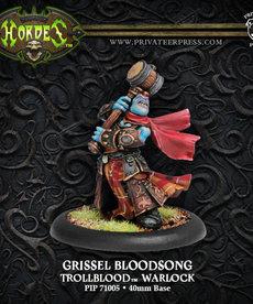 Privateer Press - PIP Hordes - Trollbloods - Grissel Bloodsong - Warlock (Grissel 1)