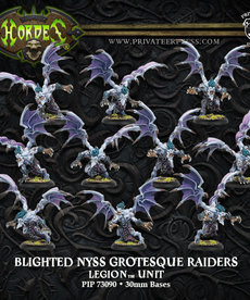 Privateer Press - PIP Hordes - Legion of Everblight - Blighted Nyss Grotesque Raiders / Banshees - Unit