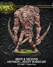 Privateer Press - PIP Hordes - Grymkin - Skin & Moans - Heavy Warbeast