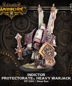 Privateer Press - PIP Warmachine - Protectorate of Menoth - Guardian / Indictor - Heavy Warjack