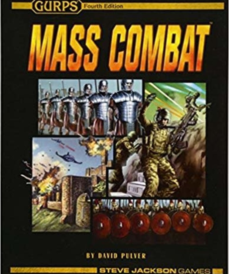 Steve Jackson Games - SJG CLEARANCE GURPS Mass Combat (DOMESTIC ONLY)