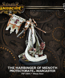 Privateer Press - PIP Warmachine - Protectorate of Menoth - The Harbinger of Menoth - Warcaster (Harbinger 1)