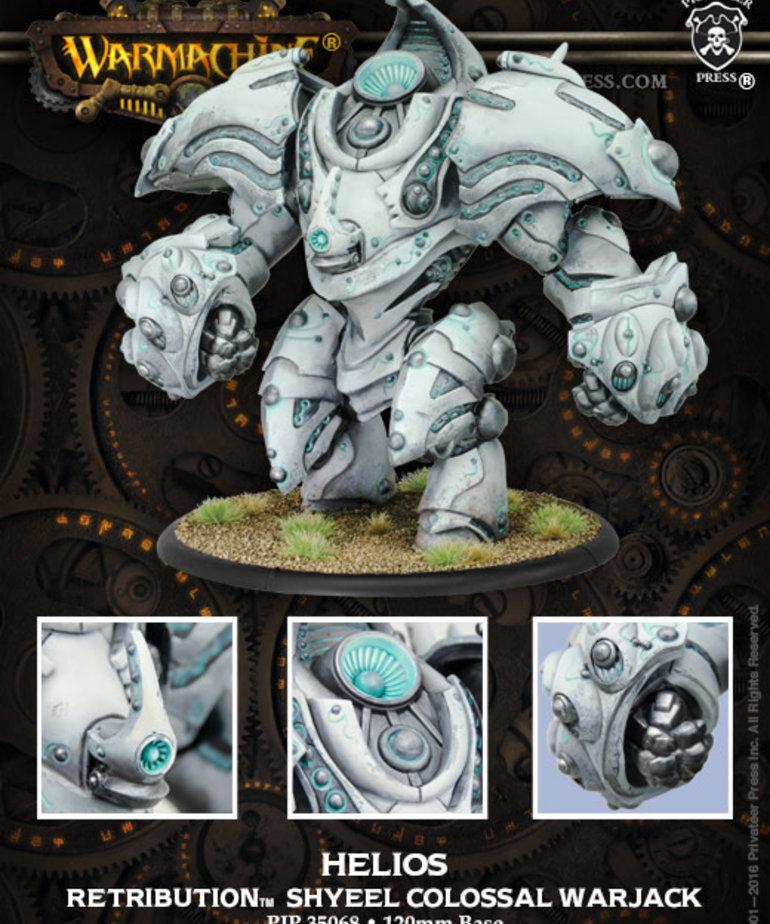 Privateer Press - PIP Warmachine - Retribution of Scyrah - Helios / Hyperion - Colossal Warjack