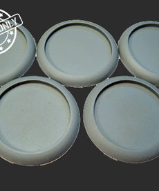 Secret Weapon Miniatures - SWM Hollow Blanks 40mm Bases (5) BLACK FRIDAY NOW