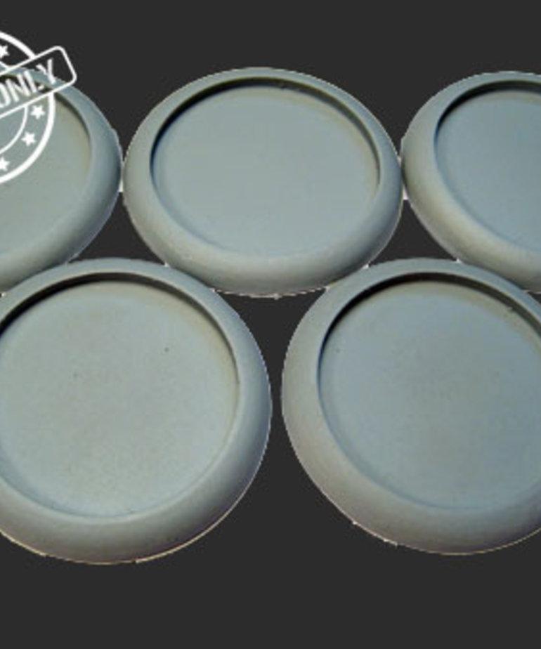 Secret Weapon Miniatures - SWM Hollow Blanks 40mm Bases (5) Secret Weapon Bases BLACK FRIDAY NOW