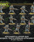 Privateer Press - PIP Hordes - Grymkin - Hollowmen & Lantern Man - Unit & Command Attachment