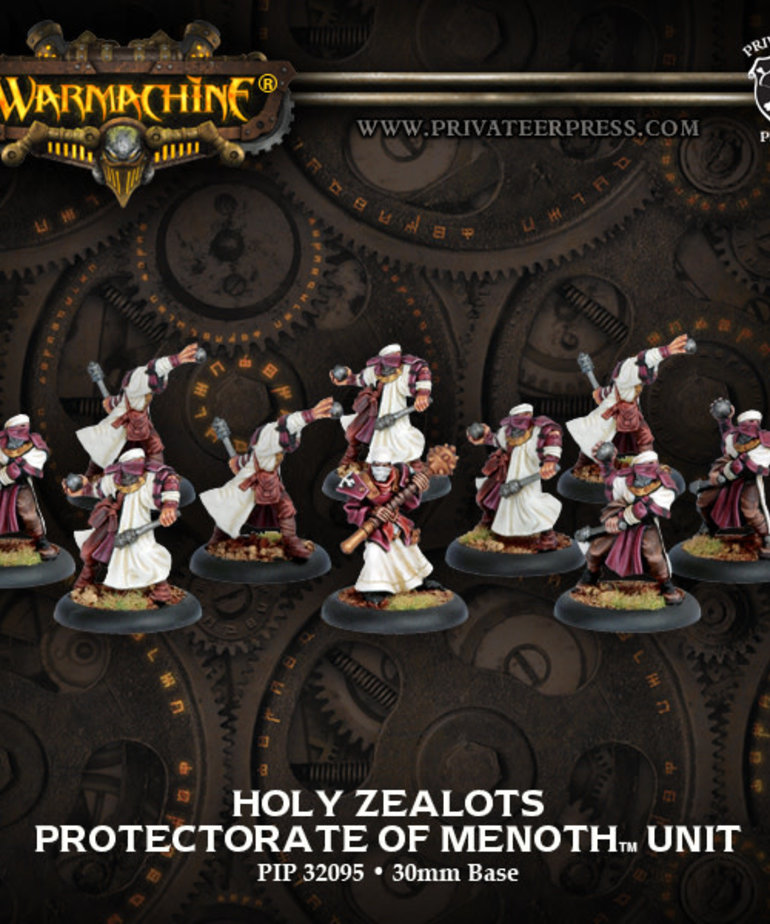 Privateer Press - PIP Warmachine - Protectorate of Menoth - Holy Zealots - Unit