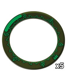 "Privateer Press - PIP Hordes - 3"" Area of Effect Ring Markers (5)"