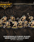 Privateer Press - PIP Warmachine - Mercenaries - Horgenhold Forge Guard Unit - Rhulic Unit