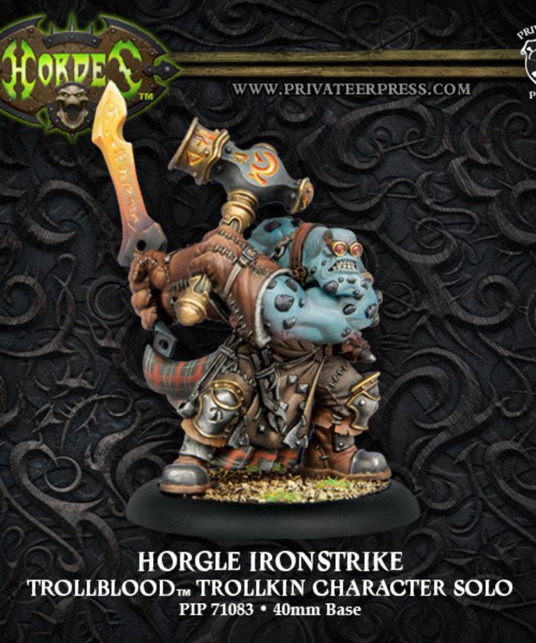 Privateer Press - PIP Hordes - Trollbloods - Horgle Ironstrike - Trollkin Character Solo