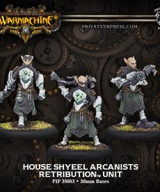 Privateer Press - PIP Warmachine - Retribution of Scyrah - House Shyeel Arcanists - Unit