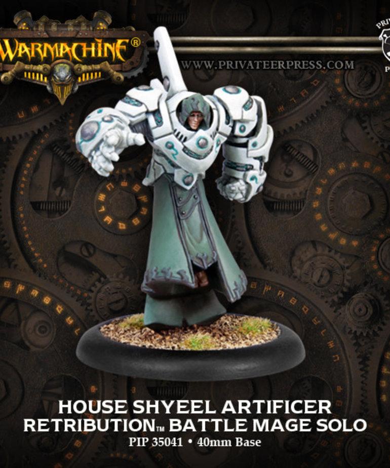 Privateer Press - PIP Warmachine - Retribution of Scyrah - House Shyeel Artificer