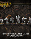 Privateer Press - PIP Warmachine - Retribution of Scyrah - House Shyeel Battle Mages - Unit