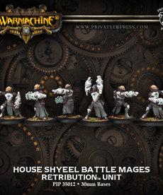 Privateer Press - PIP Warmachine - Retribution of Scyrah - House Shyeel Battle Mages - Unit