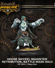 Privateer Press - PIP Warmachine - Retribution of Scyrah - House Shyeel Magister Battle Mage - Solo