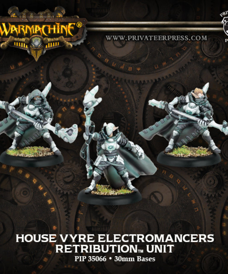 Privateer Press - PIP Warmachine - Retribution of Scyrah - House Vyre Electromancers - Unit