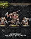 Privateer Press - PIP Hordes - Trollbloods - Hunters Grim - Warlock Unit