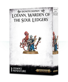Games Workshop - GAW Warhammer Age of Sigmar - Idoneth Deepkin - Lotann, Warden of the Soul Ledgers