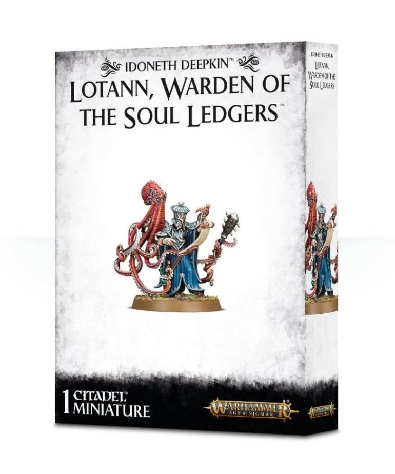 Games Workshop - GAW Warhammer Age of Sigmar - Idoneth Deepkin - Lotann, Warden of the Soul Ledgers