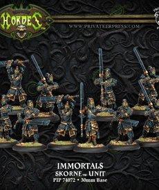 Privateer Press - PIP Hordes - Skorne - Immortals - Unit
