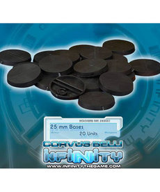 Corvus Belli - CVB Infinity: Accessories - 25mm Round Bases (20)