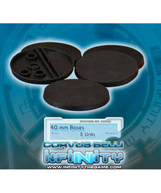 Corvus Belli - CVB Infinity: Accessories - 40mm Round Bases (5)