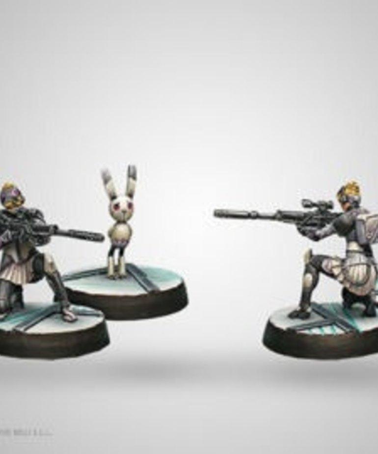 Corvus Belli - CVB Infinity - ALEPH - Atalanta, Agema's NCO