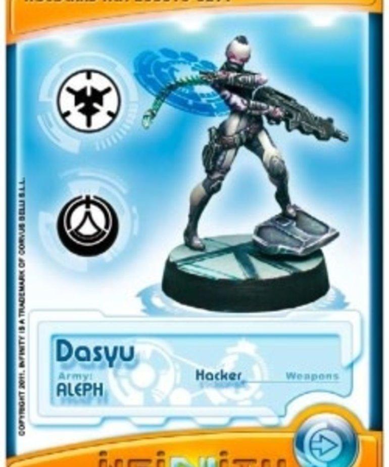 Corvus Belli - CVB Infinity: ALEPH - Dasyus (Hacker)