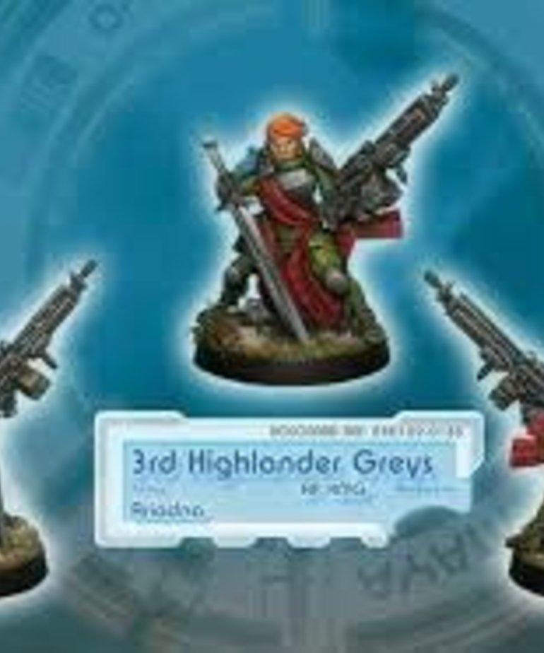 Corvus Belli - CVB Infinity: Ariadna - 3rd Highlander Rifles (AP HMG)