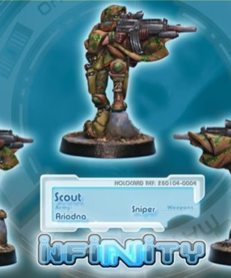 Corvus Belli - CVB Infinity: Ariadna - Scout (Sniper)