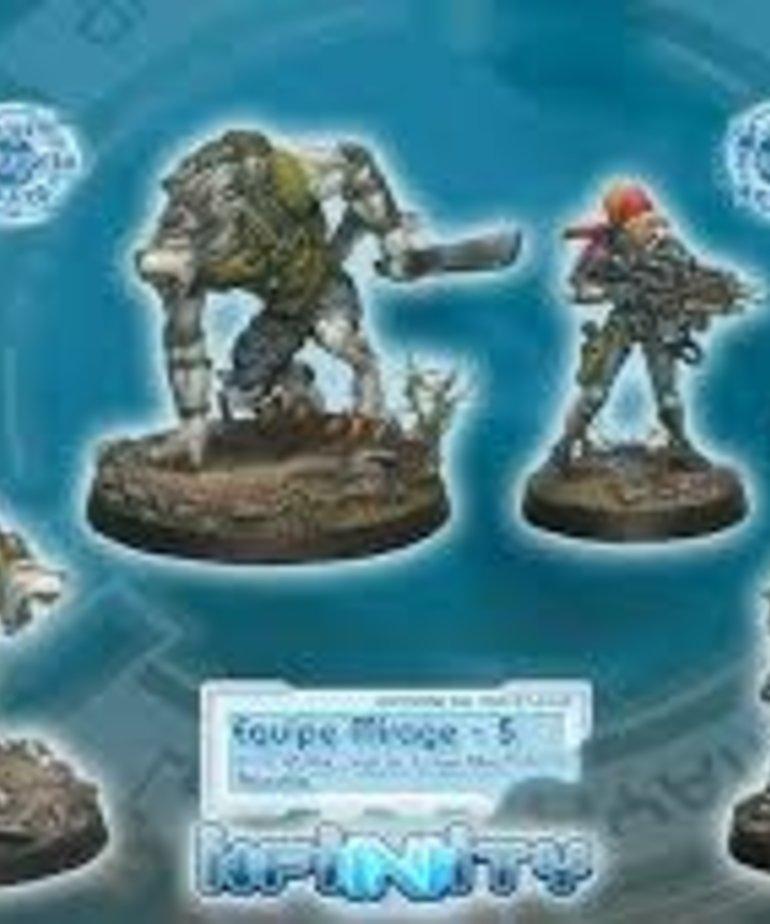 Corvus Belli - CVB Infinity: Ariadna - The Mirage-5 Team Unit Box (2)