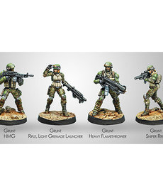 Corvus Belli - CVB USAriadna Ranger Force (Ariadna Sectorial Starter Pack) (6) BLACK FRIDAY NOW