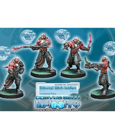 Corvus Belli - CVB Infinity: Combined Army - Daturazi Witch-Soldiers Box (4)