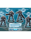 Corvus Belli - CVB Infinity: Combined Army - Morat Vanguard Infantry (4)