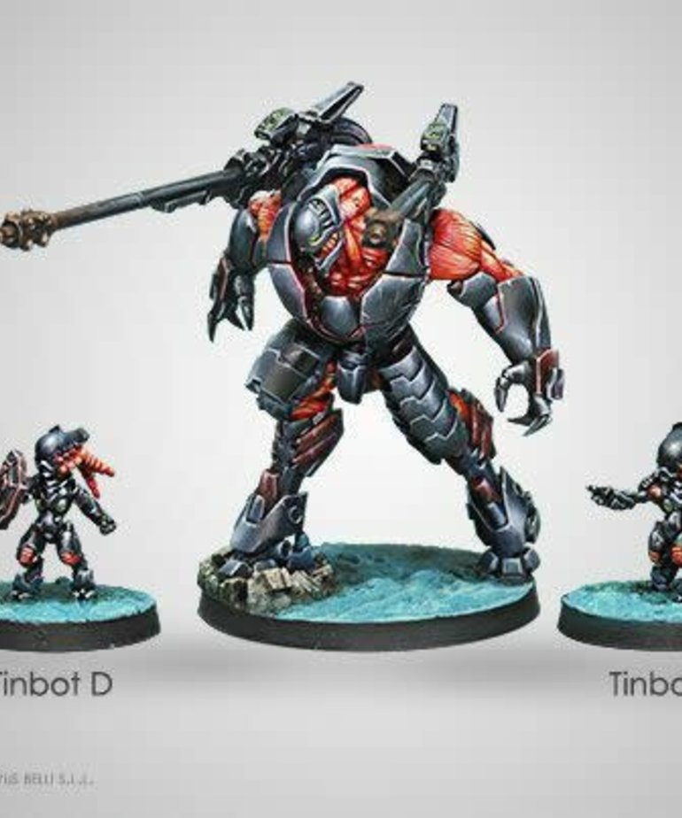 Corvus Belli - CVB Infinity - Combined Army - Overdron Batroids