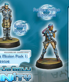 Corvus Belli - CVB Infinity: Dire Foes Mission Pack 1 - Train Rescue